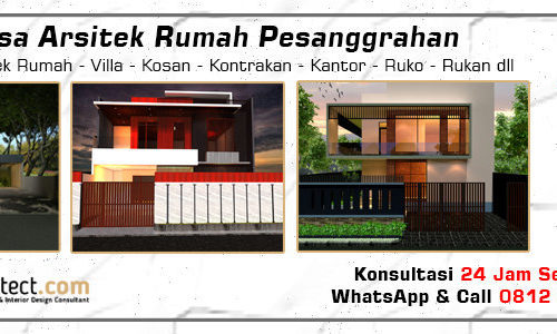 Jasa Arsitek Rumah Pesanggrahan - Jakarta Selatan