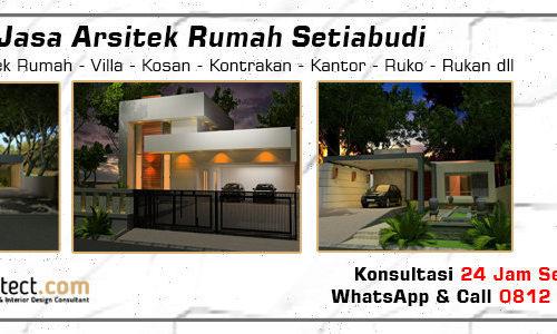 Jasa Arsitek Rumah Setiabudi - Jakarta Selatan