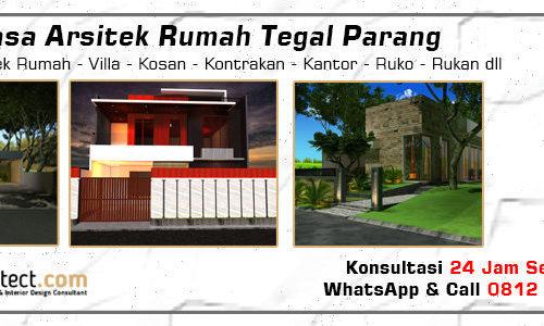 Jasa Arsitek Rumah Tegal Parang - Jakarta Selatan