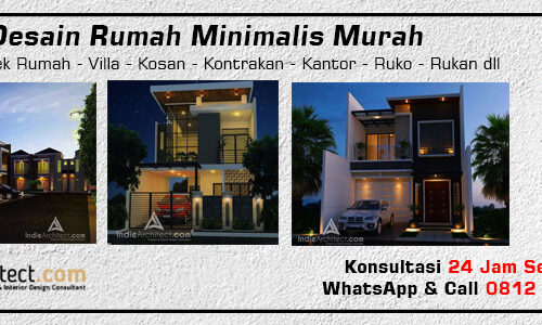 Desain Rumah Minimalis Murah