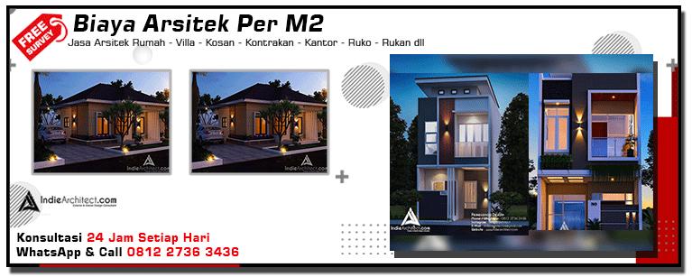Biaya Arsitek Per M2