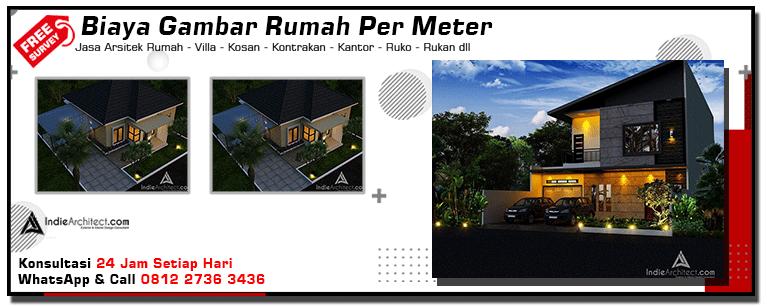 Biaya Gambar Rumah Per Meter