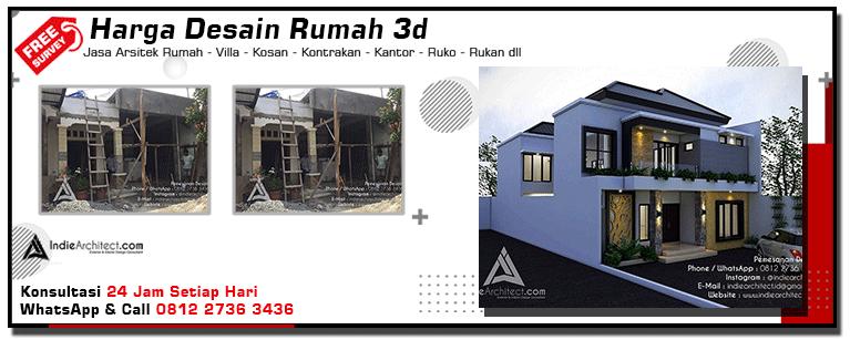 Harga Desain Rumah 3d