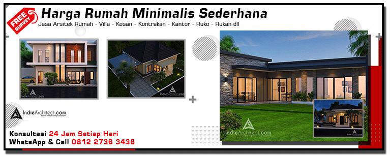 Harga Rumah Minimalis Sederhana