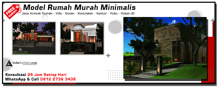 Model Rumah Murah Minimalis