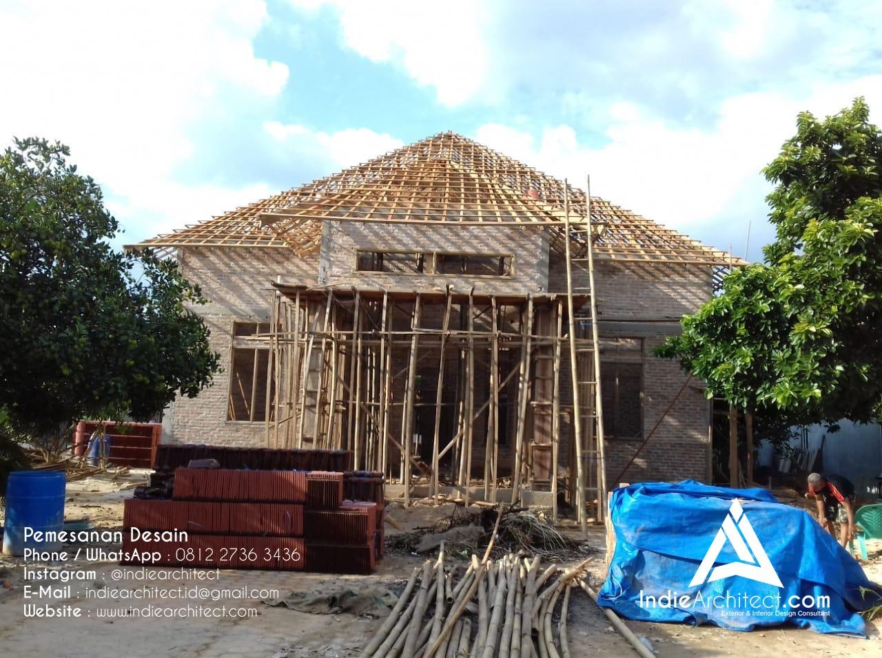 Realisasi Gambar Arsitek Rumah di Lampung