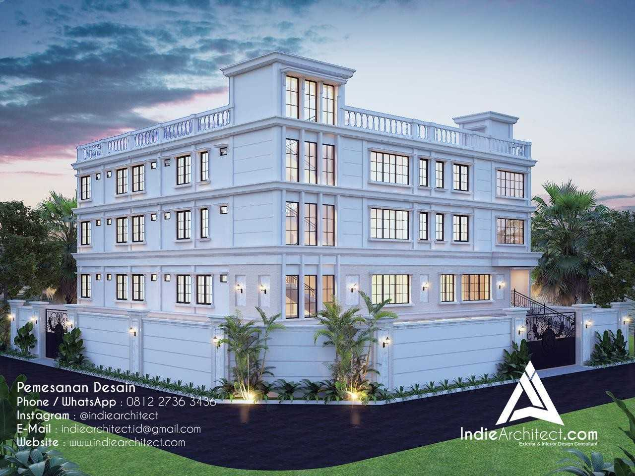 Desain Rumah 4 Lantai di Jakarta Barat
