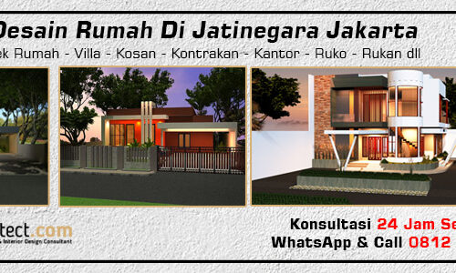 Jasa Desain Rumah Di Jatinegara Jakarta